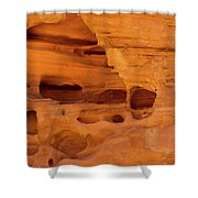 Eroded Sandstone Valley Of Fire Shower Curtain