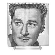 Errol Flynn Shower Curtain