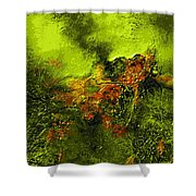 eruption II Shower Curtain