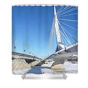 Esplanade Riel Shower Curtain