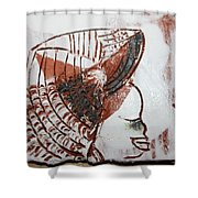 Eugenie - Tile Shower Curtain