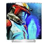 Execute Order 66 - Acrylic Style Shower Curtain