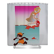 Exile On Main Street Shower Curtain