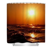 Extreme Blazing Sun Shower Curtain