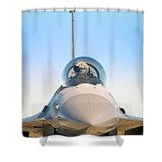 F-16 Fighting Falcon Shower Curtain