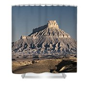 Factory Butte 0562 Shower Curtain