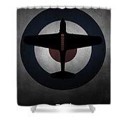 Fairey Battle Shower Curtain