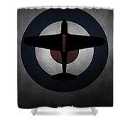 Fairey Battle Shower Curtain