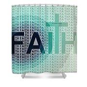 Faith - The Lord God Of Israel Shower Curtain