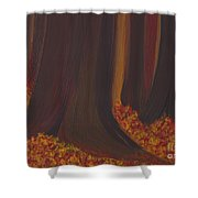 Fall Forest Floor By Jrr Shower Curtain