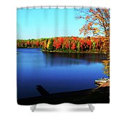 Fall In Northern Wisconsin Shower Curtain