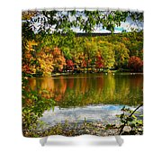 Fall In Pennsylvania Shower Curtain