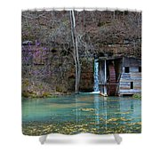 Falling Spring Mill Shower Curtain