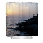 Fanabe Evening 2 Shower Curtain