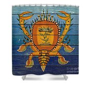 Fanciful Sea Creatures-jp3823 Shower Curtain