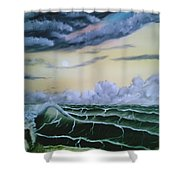 Fantasy Seascape Shower Curtain