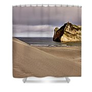 Farewell Spit New Zealand Shower Curtain