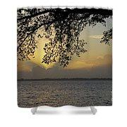 Farewell Sunset Shower Curtain