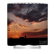 Farmer's Sunrise Shower Curtain