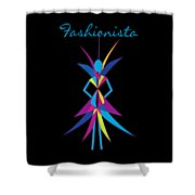 Fashionista Shower Curtain