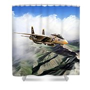 Fear The Bones F-14 Shower Curtain