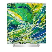 Feeling Of Summer Shower Curtain