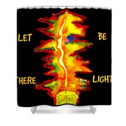 Feminine Light - Apparel Design Shower Curtain