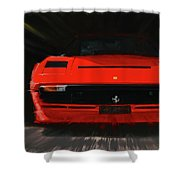 Ferrari 208 Gtb Turbo. Shower Curtain