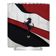 Ferrari Blend Shower Curtain