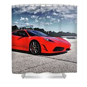 Ferrari F430 Shower Curtain