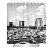 Festive Tampa Bay Shower Curtain