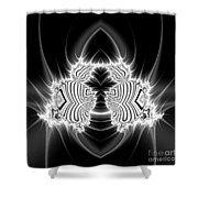 Fibonacci Beetle  Shower Curtain