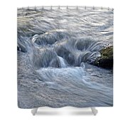 Fightingtown Creek, Georgia Shower Curtain