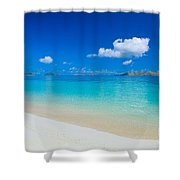 Fiji, Mana Island Shower Curtain