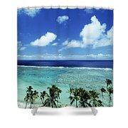 Fiji, Wakaya Island Shower Curtain