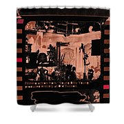 Film Homage Collage Young Billy Young 1969 Old Tucson Arizona 1968-2013 Shower Curtain