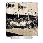 Film Homage Newsreel Cameraman The Great White Hope Set Globe Arizona 1969-2008 Shower Curtain