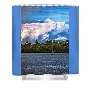 Finding Safe Harbor Shower Curtain
