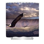 Finding Tranquility  Shower Curtain