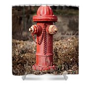 Fire Hydrant #16 Shower Curtain