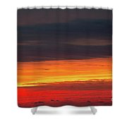Fire  Shower Curtain