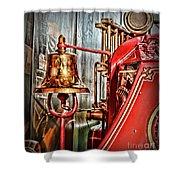 Fireman - The Fire Bell Shower Curtain