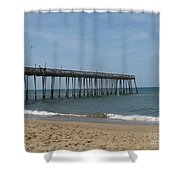 Fishing Pier Shower Curtain