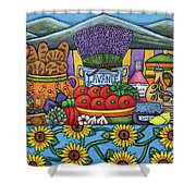 Flavours Of Provence Shower Curtain