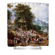 Flemish Fair Shower Curtain