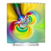 Flexibility 53aaa Shower Curtain