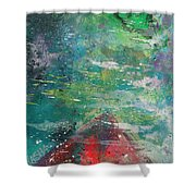 Float Boat Shower Curtain