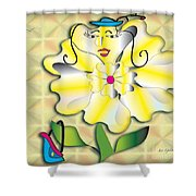 Flora 2 Shower Curtain