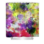 Floral Art Cix Shower Curtain