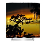 Central Florida Sunset Shower Curtain